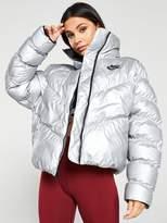 Nike NSW Shine Jacket - Silver