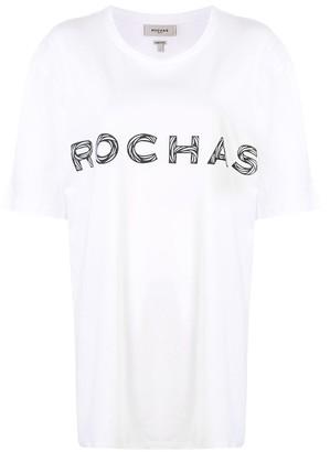 Rochas logo T-shirt