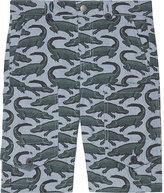 Stella Mccartney Pine Cotton Shorts 2-14 Years