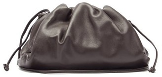 Bottega Veneta The Pouch Small Leather Clutch Bag - Brown