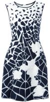 Alberta Ferretti printed fitted dress - women - Silk/Cotton/Polyamide/other fibers - 40
