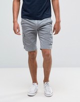 Tommy Hilfiger Cargo Shorts in Alloy Gray