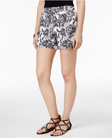 Thalia Sodi Floral-Print Pull-On Shorts, Created for Macy's