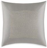 "Vera Wang Crochet Lace Stripey Lace Decorative Pillow, 20"" x 20"""