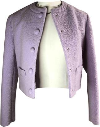 Carven Purple Wool Jackets