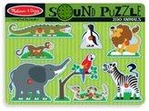 Melissa & Doug 9-piece Zoo Animals Sound Puzzle by