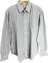 Saint Laurent Green Cotton Shirts