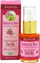 Badger Damascus Rose Antioxidant Face Oil - Certified Organic,1 oz.