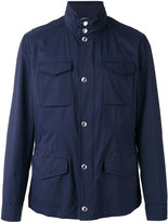 Brunello Cucinelli flap pockets jacket - men - Cotton/Nylon - 50