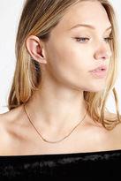 BCBGeneration Rhinestone-Pave Minimal Necklace - Gold