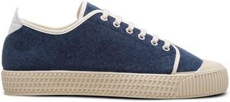Car Shoe Denim Low-Top Sneakers
