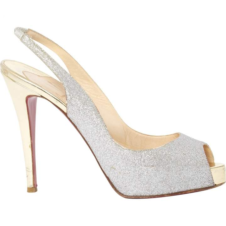 Christian Louboutin Private Number leather court shoes