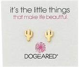 Dogeared Little Things Cactus Stud Earrings