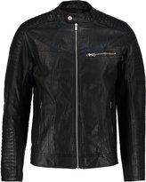 Tom Tailor Denim Faux Leather Jacket Black