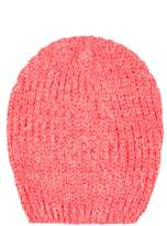Select Fashion Fashion Womens Orange Eyelash Beanie - size One