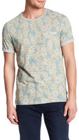 Ted Baker Floral Cuffed T-Shirt
