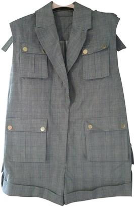 Zimmermann Grey Cotton Shorts for Women