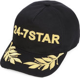 Dsquared2 Acc 24-7 Star Embroidered Canvas Cap