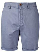 Burton Burton Mid Blue Stretch Chino Shorts
