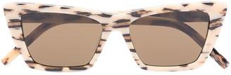 Saint Laurent New Wave cat-eye frame sunglasses