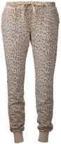 Current/Elliott leopard print sweatpants