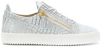 Giuseppe Zanotti Gail python-print sneakers