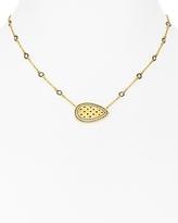 Freida Rothman Lattice Pendant Necklace, 15