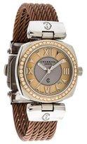 Charriol Two-Tone Diamond Watch