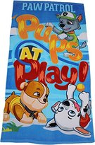 Paw Patrol Pups at Play Children's Large Beach Towel By BestTrend