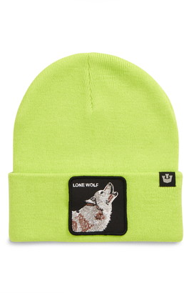 Goorin Bros. Wolf Man Patch Beanie