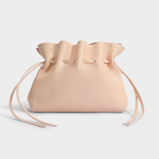Mansur Gavriel Soft Bag With Drawstring In Rosa And Blush Lambskin