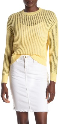 CODEXMODE Open Stitch Pullover Sweater