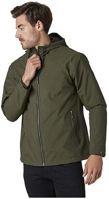 Helly Hansen Urban Rain Jacket (Forest Night) Men's Clothing