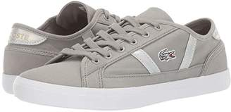 Lacoste Sideline 219 1 CFA (Light Grey/White) Women's Shoes