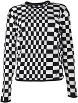 Versus Checked Pullover