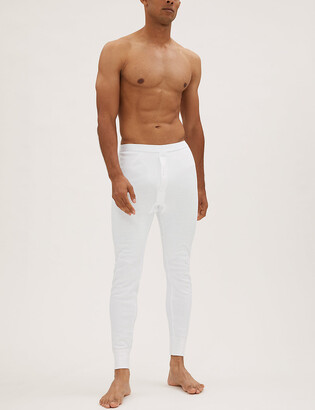 Marks and Spencer Thermal Medium Warmth Cotton Long Johns