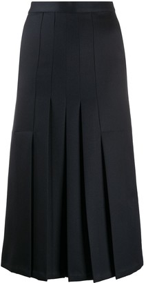 Giuliva Heritage Collection Verena pleated midi skirt
