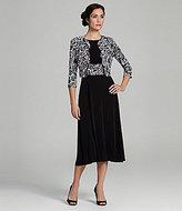 Jessica Howard Printed Jacket Dress