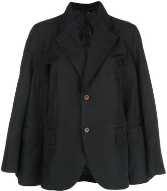 Comme des Garcons Layered Look Blazer Jacket