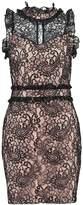 Endless Rose MOCK NECK Cocktail dress / Party dress black combo