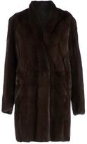 32 Paradis Sprung Frères shawl neck mink fur coat