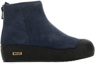 Bally Back-Zip Winter Ankle Boots