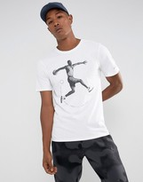 Jordan Nike Aj5 T-Shirt In White 864923-100
