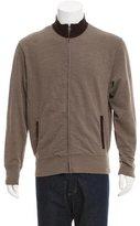Billy Reid Mock Neck Zip-Front Jacket