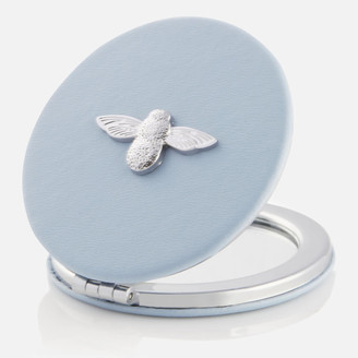 Olivia Burton Women's 3D Bee Compact Mirror - Chalk Blue/Silver