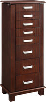 Asstd National Brand Mahogany Jewelry Armoire