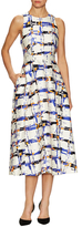 LK Bennett Coney Printed Fit And Flare Dress