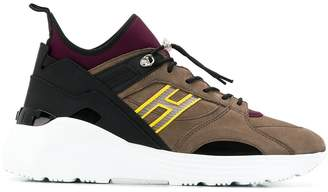 Hogan High-top panelled sneakers