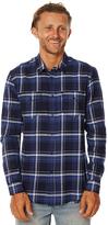 Swell Switch Ls Mens Shirt Blue