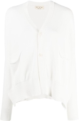 Ma Ry Ya Flap-Pocket Cotton Cardigan